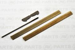 Crocette alluminio profilo aerodinamico