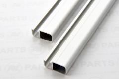Profilo custom per boma di randa - anodizzato alluminio naturale o nero