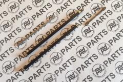 Crocette cilindriche fibra di carbonio - tubo 3x2mm