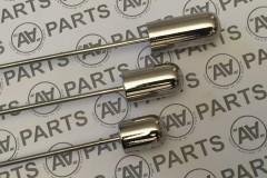 Contrappeso boma di fiocco profilo cilindrico acciaio inossidabile