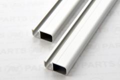 Profilo custom per boma - lunghezza 350 mm - anodizzato alluminio naturale o nero