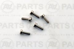 Vite TCCE M2x6 acciaio inossidabile A2