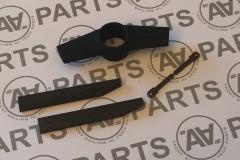 Crocette a profilo aerodinamico in carbonio con supporto centrale