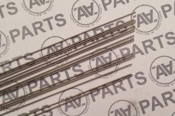 Cavetto acciaio inossidabile monofilo Ø 0,6 mm - 60 kg (131 lb) per sartiame d'albero - stirato meccanicamente e perfettamente diritto