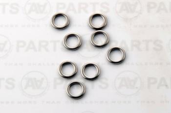 Anello per circuito scotta verricello - titanio