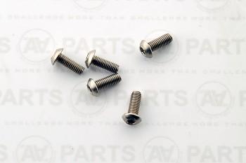 Vite TBCE M3x10 acciaio inossidabile A2