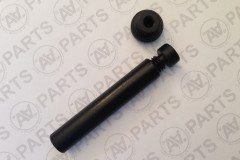 Losca timone per asse Ø 4 mm  - guarnizione Oring